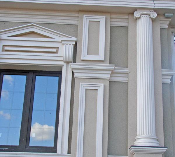 Сочи фасадный декор
