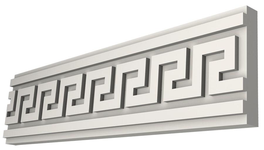 Орнамент из пенопласта