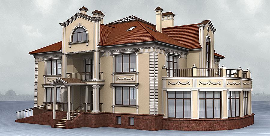 Фото фасады домов в классическом стиле фото - все фото.