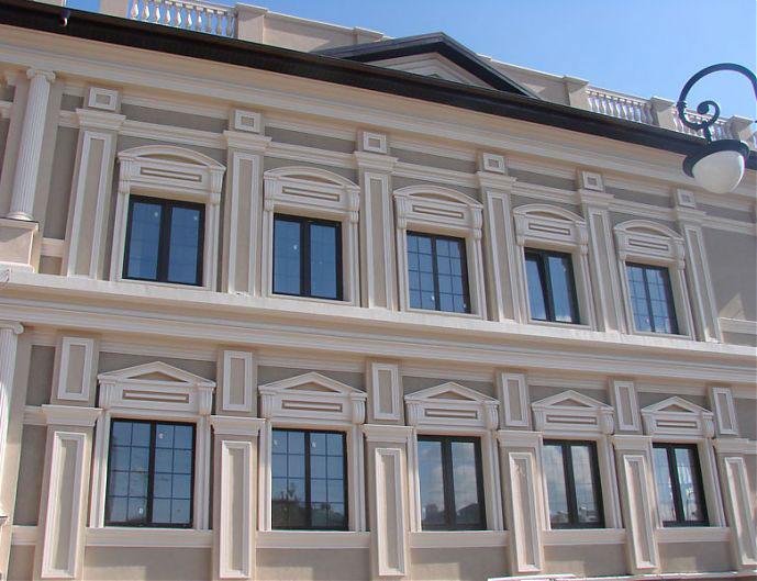 Фасадный декор из%