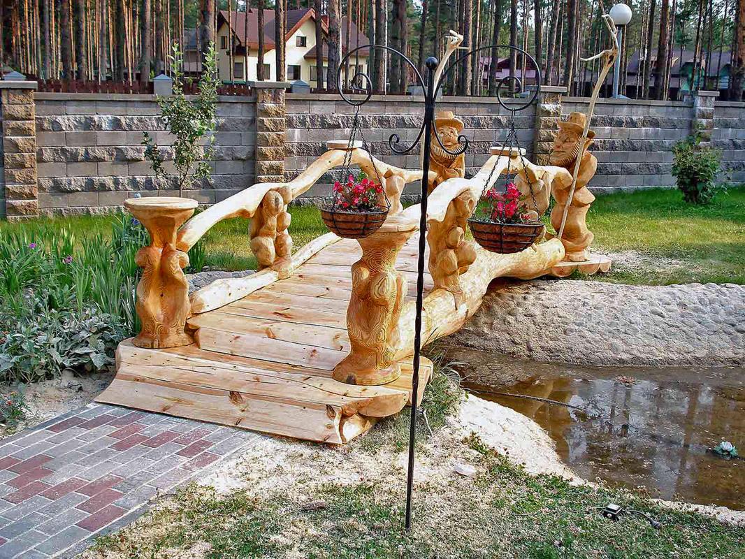 Скульптуры своими руками на даче фото 67