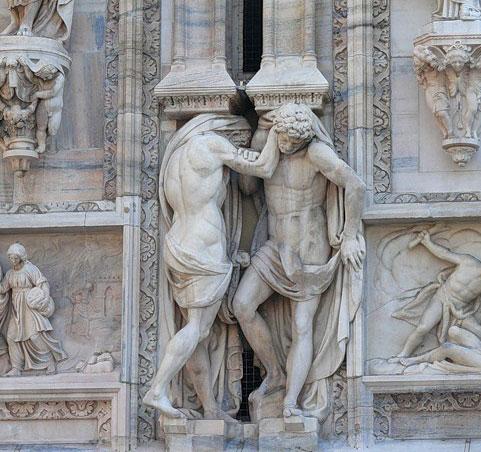скульптурные изображения: