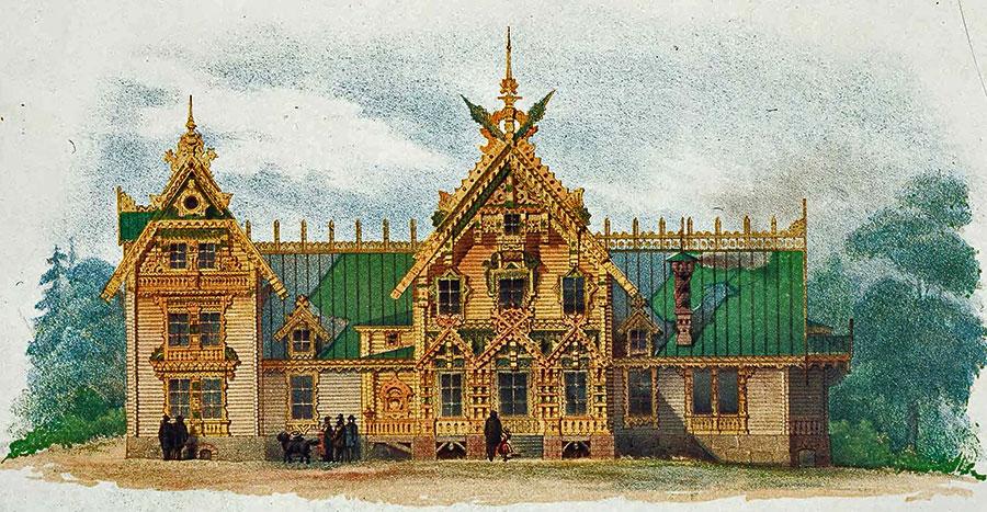Фасадный декор домов