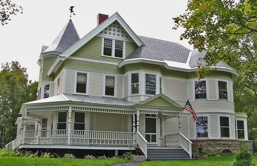 дома викторианской эпохи фото