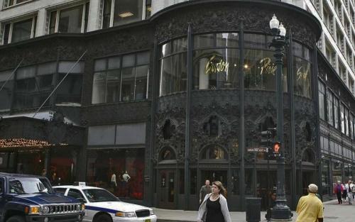 Универсальный магазин Карсон, Пири и Скотта. архитектор Л.Салливен. Чикаго. 1899 г.
