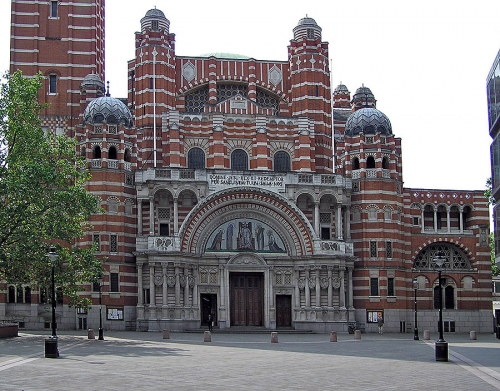 Вестминстерский собор. Архитектор Джон Бентли. строительство с 1895 г.